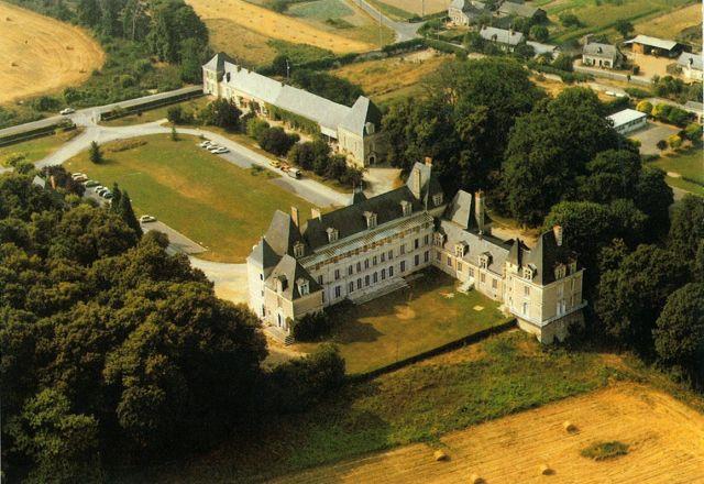 Château de Briançon : Vue aérienne